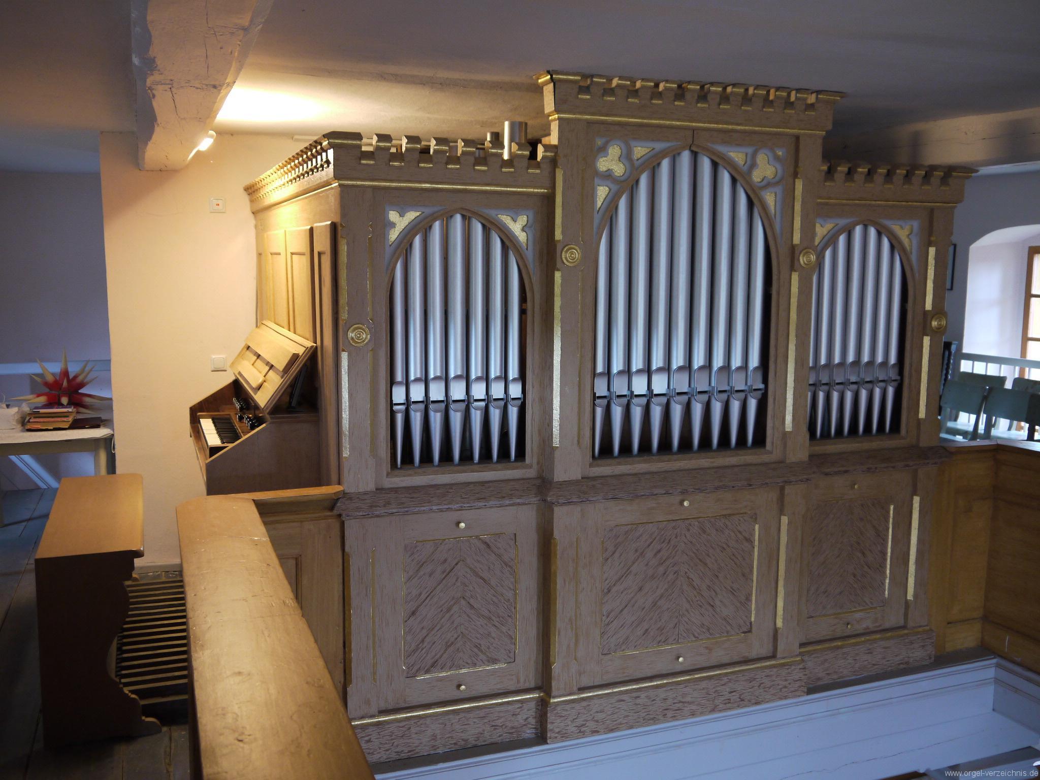 Königs Wusterhausen Dorfkirche Wernsdorf Orgelprospekt (3)
