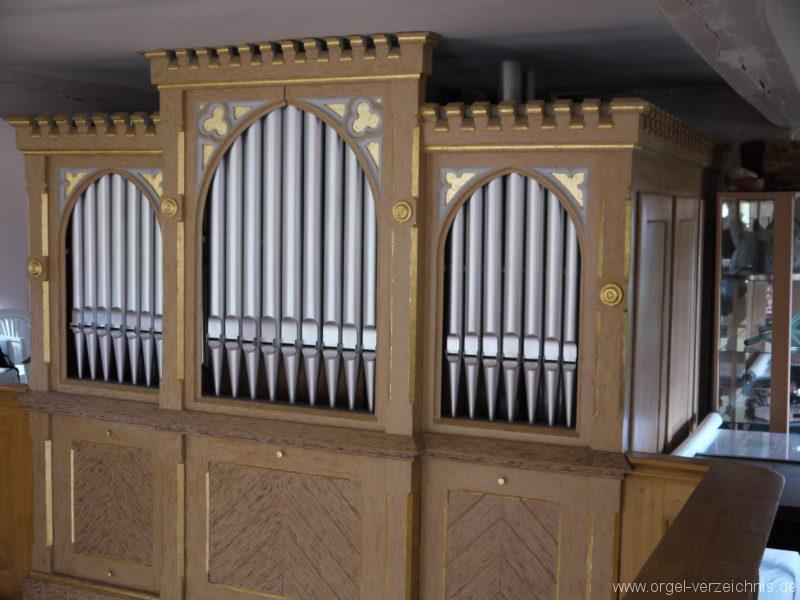 Königs Wusterhausen Dorfkirche Wernsdorf Orgelprospekt (4)