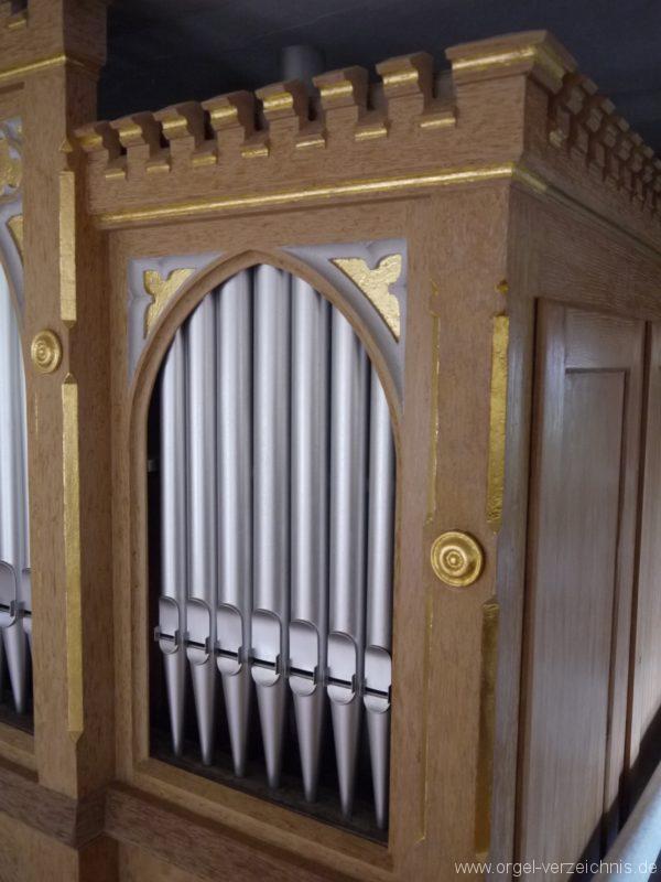 Königs Wusterhausen Dorfkirche Wernsdorf Orgelprospekt (5)