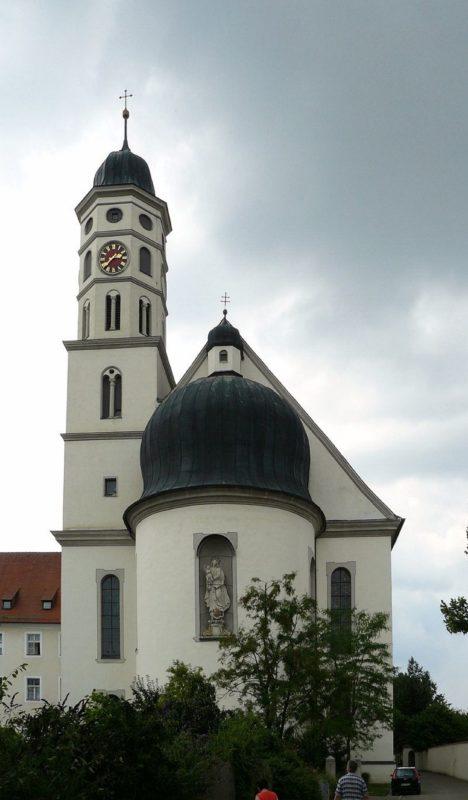Maihingen Klosterkirche Aussenansicht