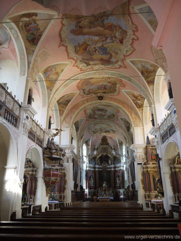 Maihingen ehemalige Klosterkirche Zur unbefleckten Empfängnis (1)