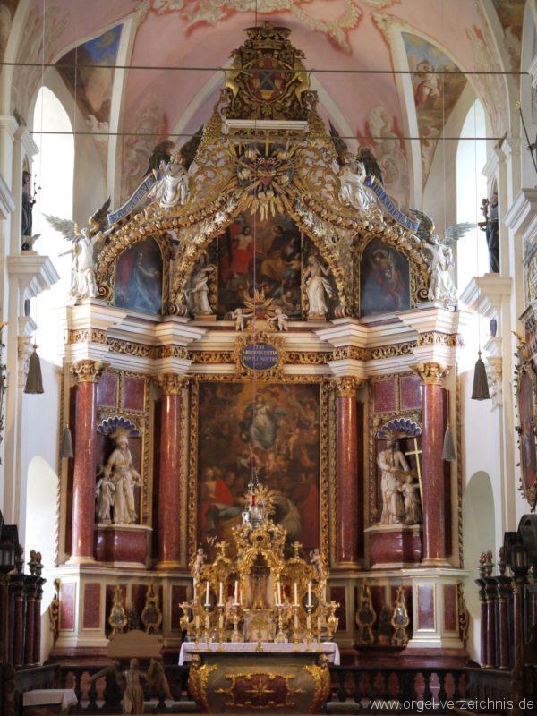 Maihingen ehemalige Klosterkirche Zur unbefleckten Empfängnis Altar