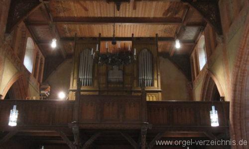 Rostock Toitenwinkel Dorfkirche  Orgelprospekt (3)