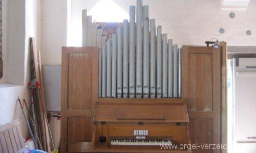 Rostocker Wulfshagen Dorfkirche Orgelprospekt I