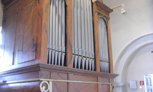 Wien - Pfarrkirche Erdberg St. Peter und Paul-Orgel (1)