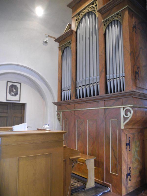Wien - Pfarrkirche Erdberg St. Peter und Paul-Orgel (6)