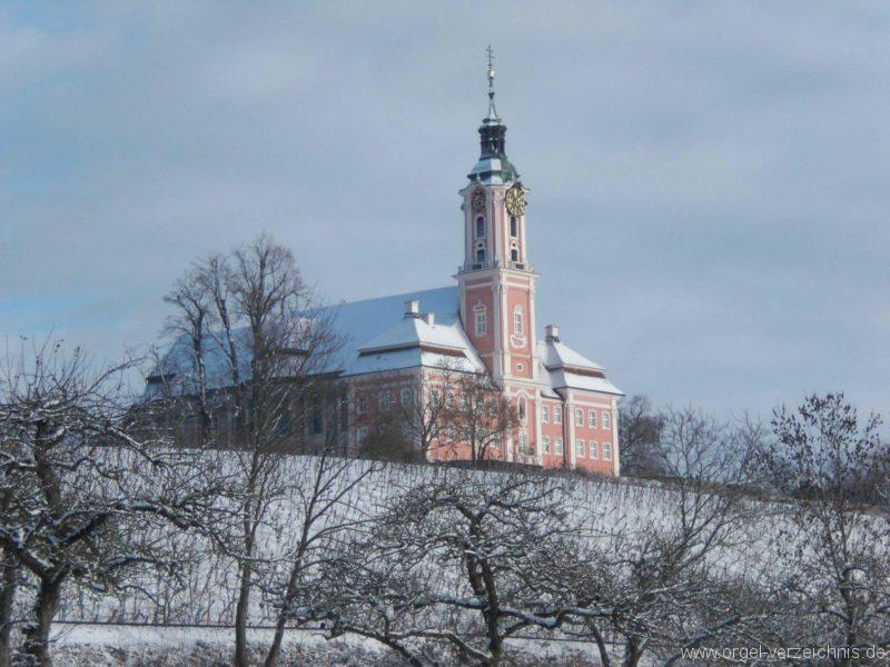 Birnau Kloster- und Wallfahrtskirche St. Maria Aussenansicht II (2)