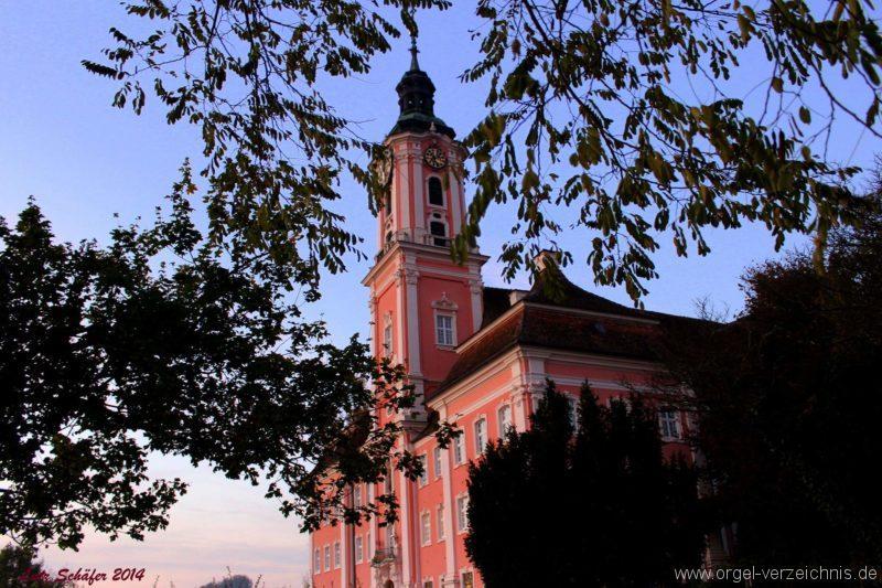 Birnau Kloster- und Wallfahrtskirche St. Maria Aussenansicht II (3)