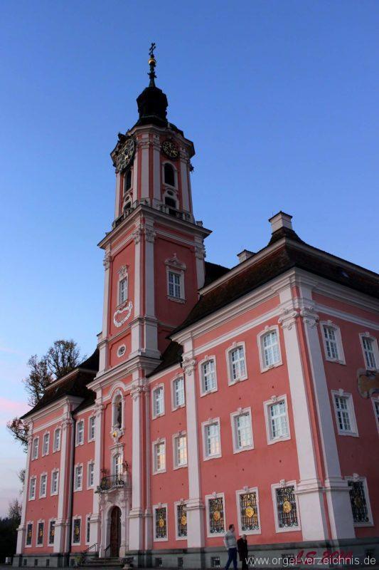 Birnau Kloster- und Wallfahrtskirche St. Maria Aussenansicht II (4)