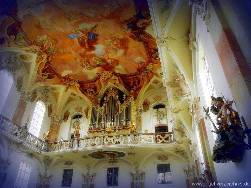 Birnau Kloster- und Wallfahrtskirche St. Maria Prospekt IIIII