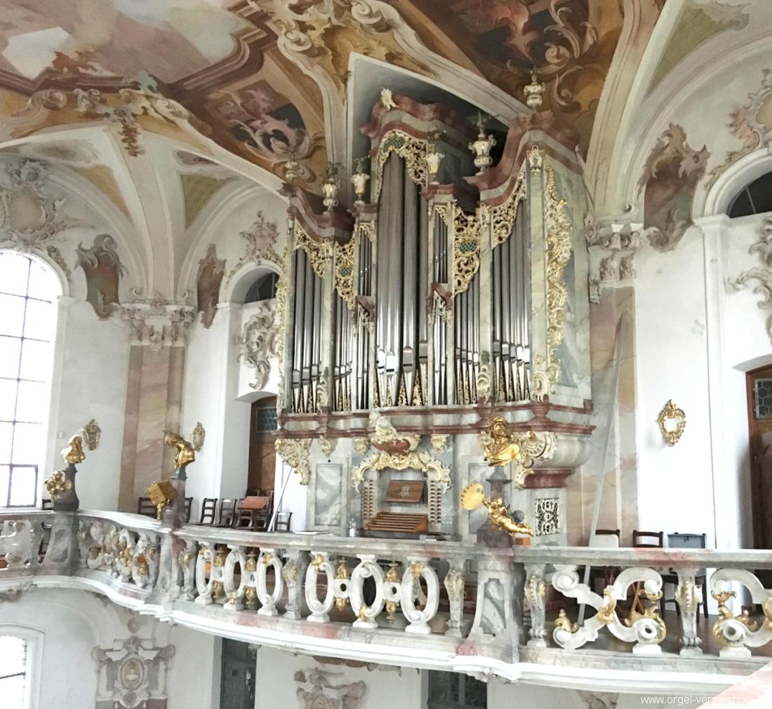 Birnau  Uhldingen-Mühlhofen - Wallfahrtskirche - Orgel (1)