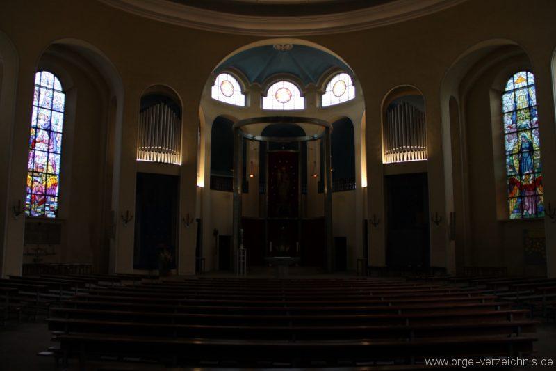 Bregenz Pfarrkirche Mariahilf Prospekt Orgel LED Beleuchtung (3)