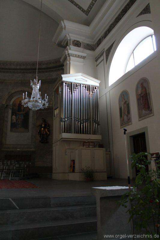Dornbirn St. Martin Chororgel Ansicht