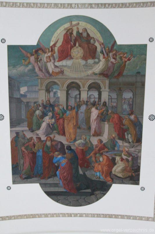 Dornbirn St. Martin Deckenfresko