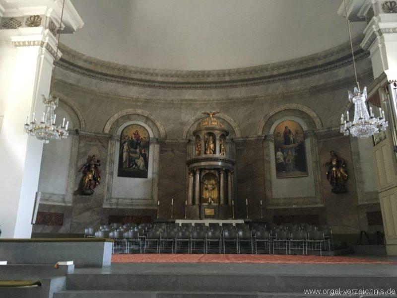 Dornbirn St. Martin Innenansicht I