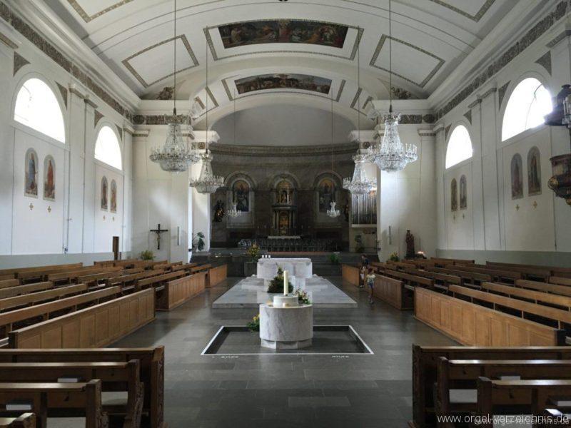 Dornbirn St. Martin Innenansicht II