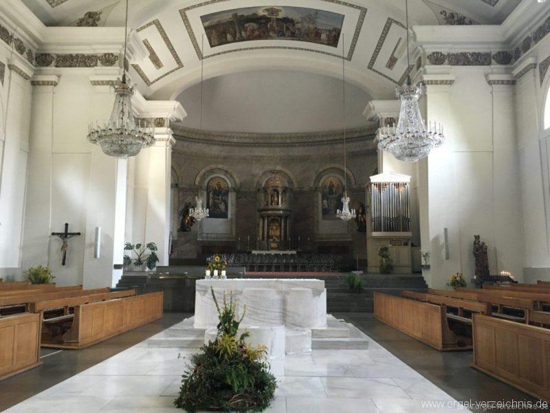Dornbirn St. Martin Innenansicht III
