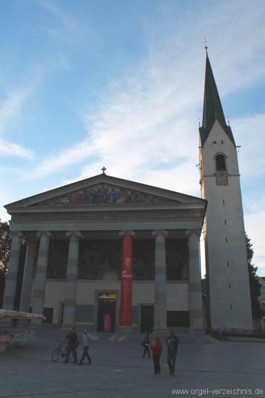 Dornbirn St. Martin Kirche Aussenansicht