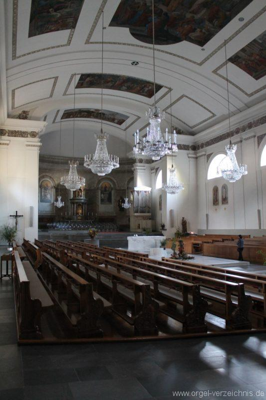 Dornbirn St. Martin Kircheninneres I
