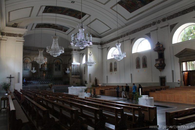 Dornbirn St. Martin Kircheninneres II