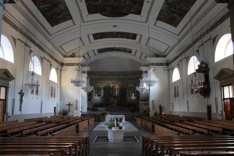Dornbirn St. Martin Kircheninneres III