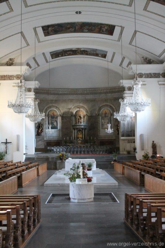 Dornbirn St. Martin Kircheninneres IV