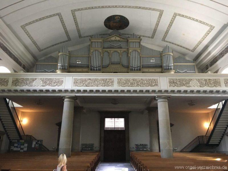 Dornbirn St. Martin Orgelprospekt Hauptorgel