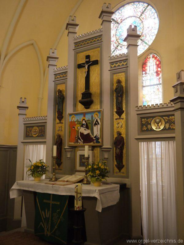 Großbeeren Evangelische Dorfkirche Altar