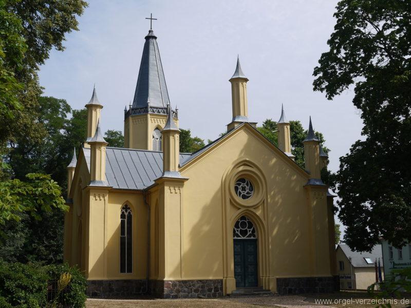 Großbeeren Evangelische Dorfkirche Aussenansicht (3)