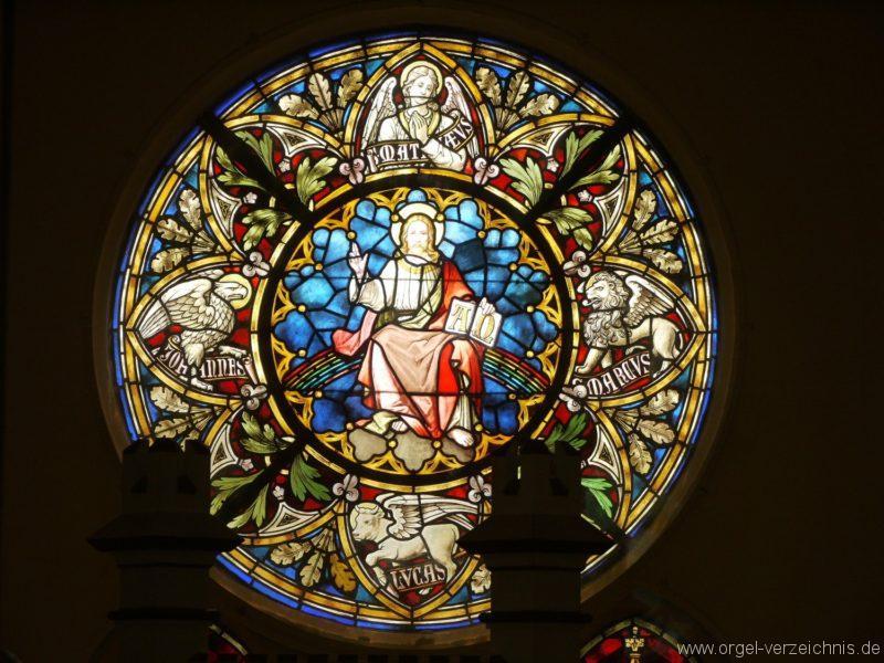 Großbeeren Evangelische Dorfkirche Fenster