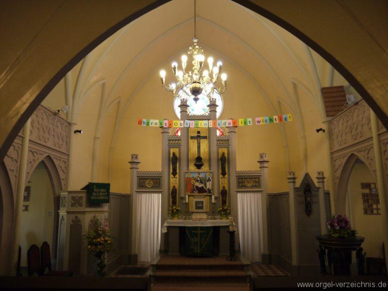 Großbeeren Evangelische Dorfkirche Innenansicht
