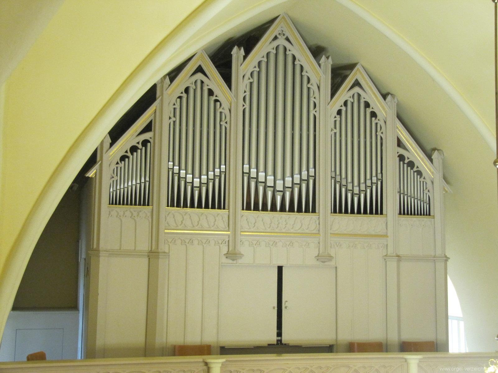 Großbeeren Evangelische Dorfkirche Prospekt (1)