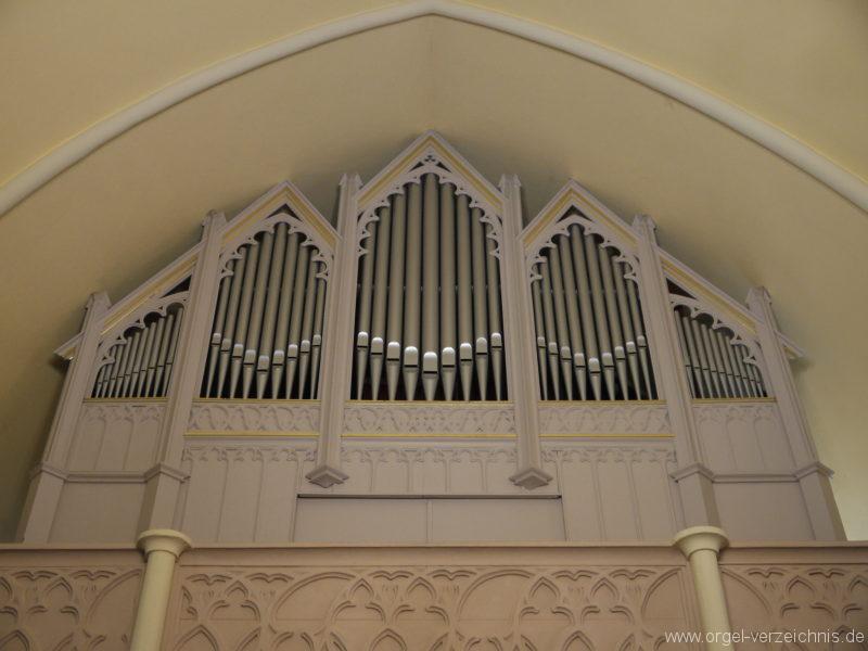 Großbeeren Evangelische Dorfkirche Prospekt (2)