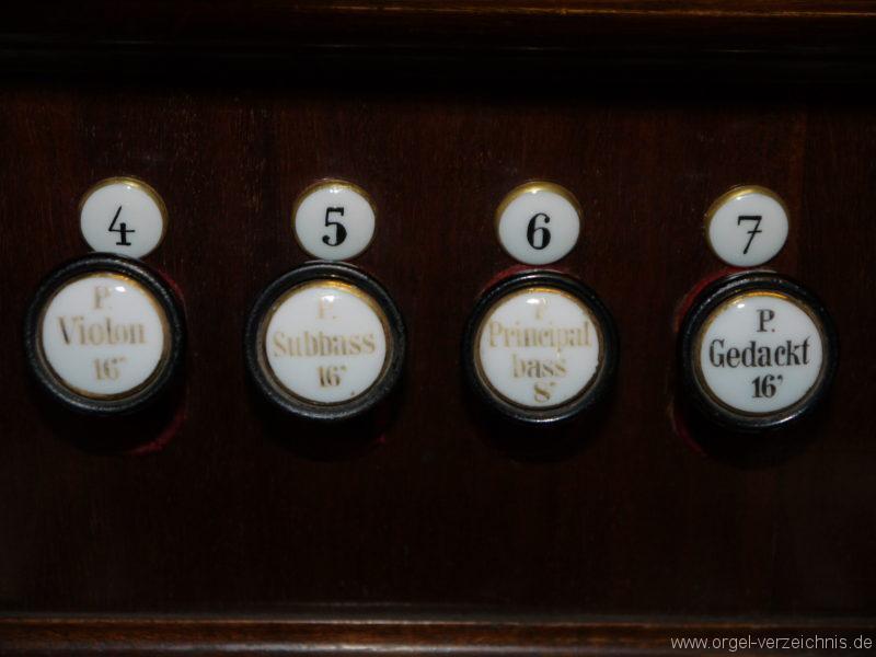 Großbeeren Evangelische Dorfkirche Register (2)
