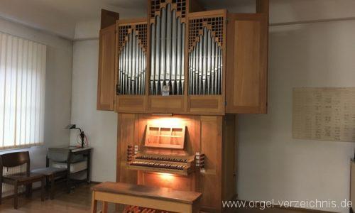 Innsbruck Musikschule Prospekt Übeorgel