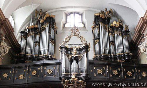 Wien - Weiden - Paulanerkirche Orgel 8