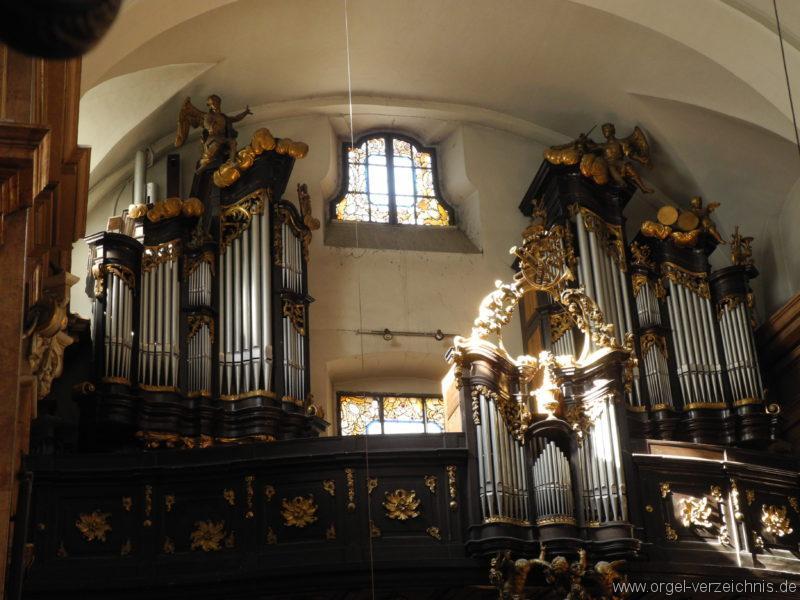 Wien - Weiden - Paulanerkirche Orgel