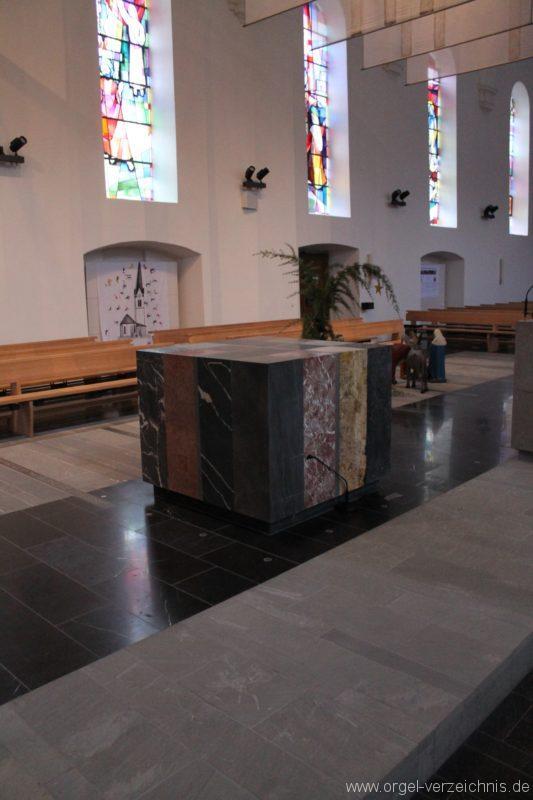 Lingenau Johannes der Täufer Altar