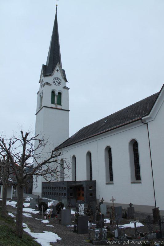 Lingenau Johannes der Täufer Kirchenäusseres II