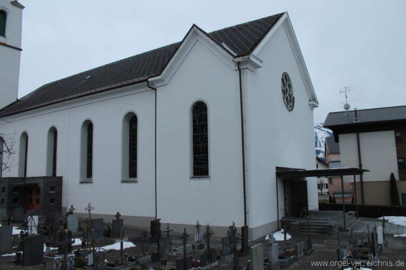 Lingenau Johannes der Täufer Kirchenäusseres III