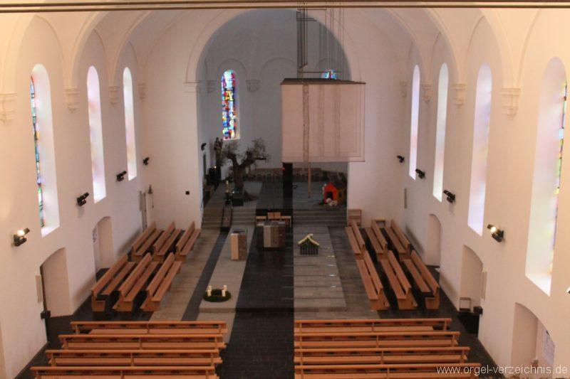 Lingenau Johannes der Täufer Kircheninneres I