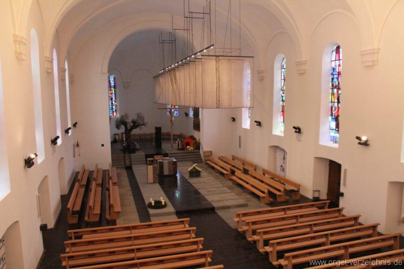Lingenau Johannes der Täufer Kircheninneres IV
