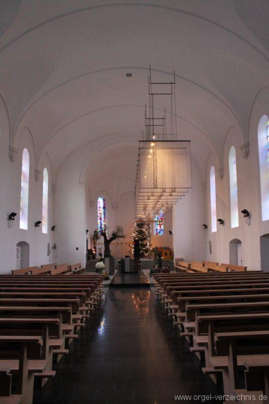 Lingenau Johannes der Täufer Kircheninneres V