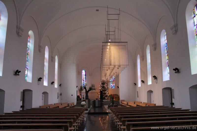 Lingenau Johannes der Täufer Kircheninneres VI