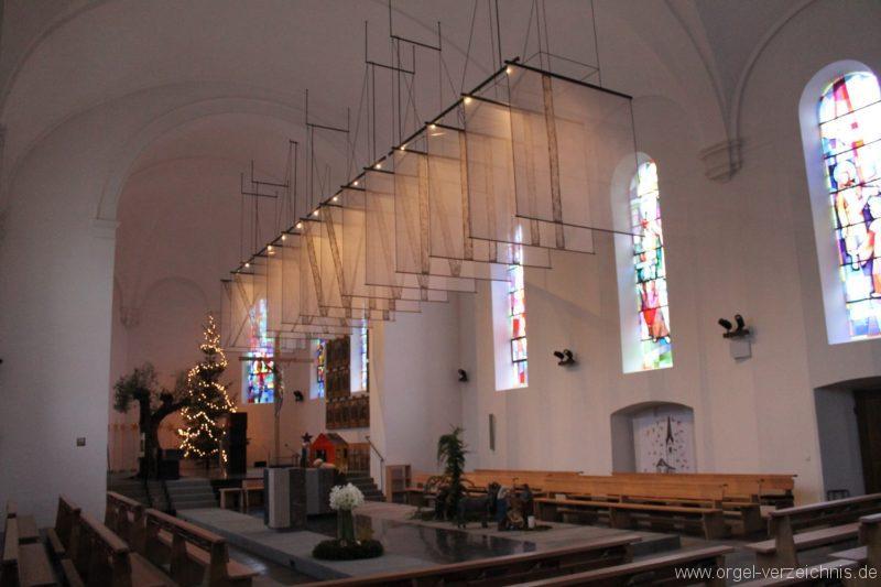 Lingenau Johannes der Täufer Kircheninneres VIII