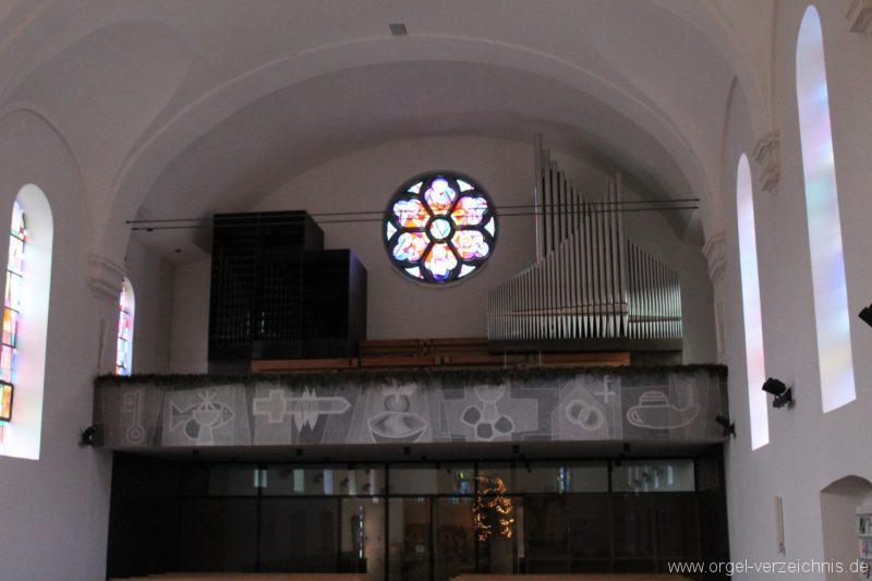 Lingenau Johannes der Täufer Kircheninneres X