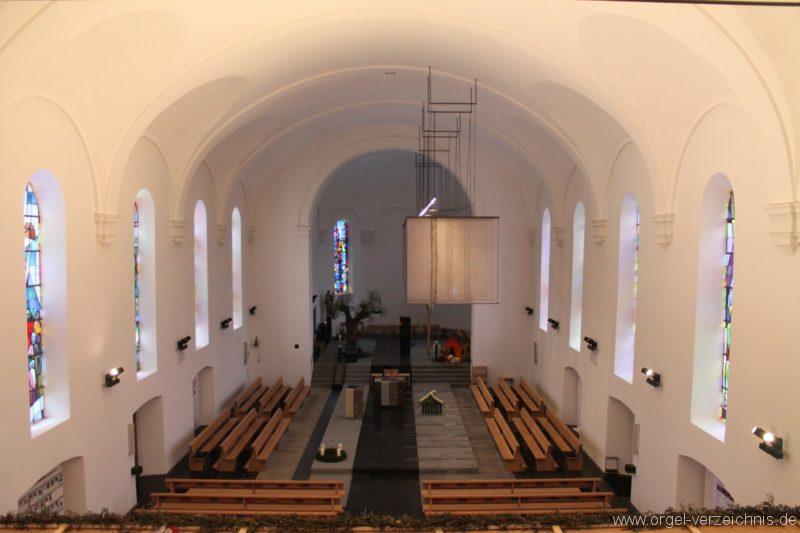 Lingenau Johannes der Täufer KircheninneresIII
