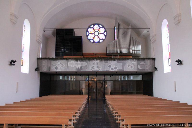 Lingenau Johannes der Täufer Prospekt VIII