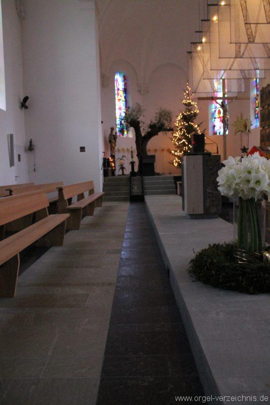 Lingenau Johannes der Täufer Taufbecken II