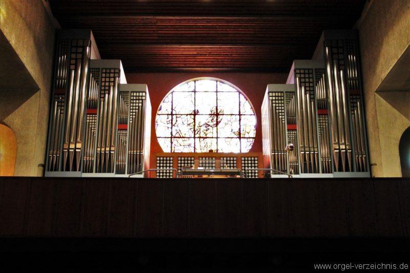 Lustenau Rheindorf Zum göttlichen Erlöser Prospekt VII